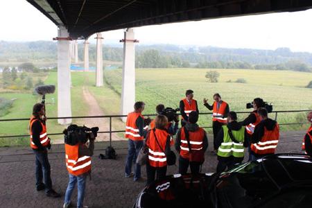 Ein Wunder? Können Sanierungsarbeiten an der Rader Hochbrücke früher beendet werden?