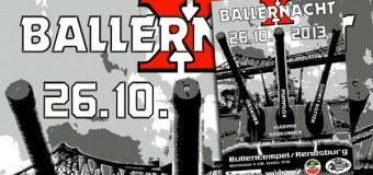 Party des Jahres! Ballernacht X im Bullentempel Rendsburg