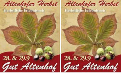 Der Altenhofer Herbst auf Gut Altenhof