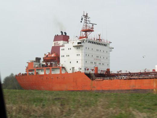 Fotos vom Nord-Ostsee-Kanal Kanalfähre Breiholz