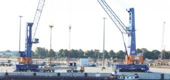 Max Bögl Beton – Erfolgreicher Umschlag im Rendsburg Port