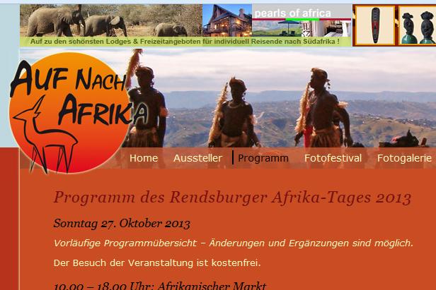 Afrikatag im Kulturzentrum Hohes Arsenal in Rendsburg