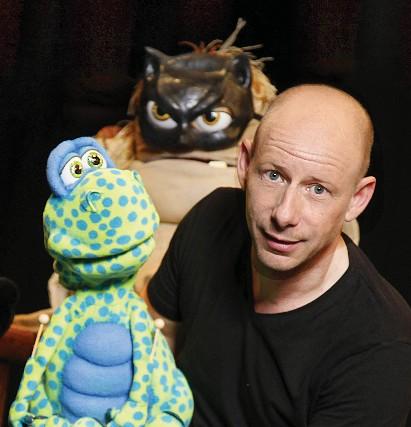 Puppenflüstern mit Benjamin Tomkins im Albatros Bordesholm