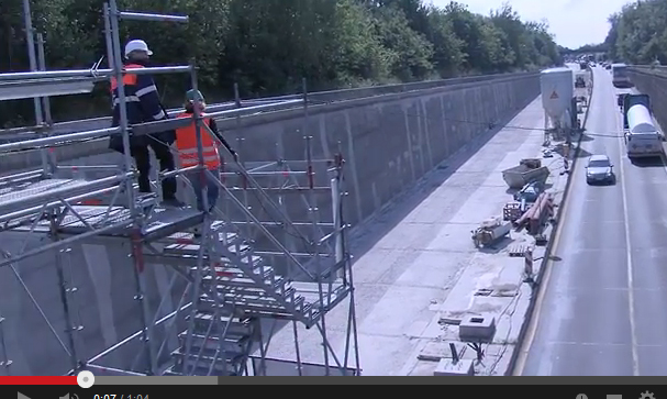 Kanaltunnel Rendsburg im TV – Rund um den Bau – Rund um den Stau