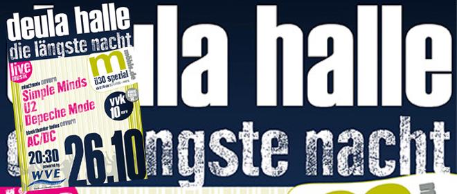 Rendsburg feiert die Längste Nacht in der DEULA-Halle