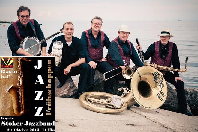 Stoker-Jazz-Band live zum Frühschoppen in Carl-Showpalast Eckernförde