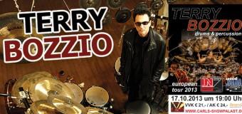 Trommeln bis zum abwinken – Terry Bozzio live in Carls Showpalast Eckernförde