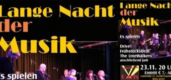 Die Lange Nacht der Musik – in Carls Showplast Eckernförde