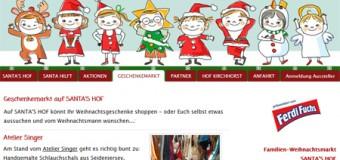 Weihnachtsmarkt SANTA'S HOF auf Hof Kirchhorst in Groß Wittensee
