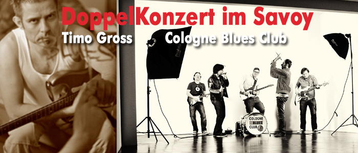 Timo Gross, der neue Held der Bluesszene live im Savoy Bordesholm