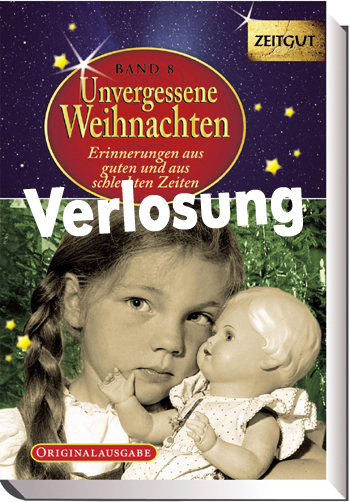"""Verlosung von Büchern """"Unvergessene Weihnachten"""" – Geschichten für Jung und Alt"""