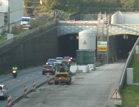 Der Rendsburger Kanaltunnel hat´s im Winter warm – Bauarbeiten gehen weiter