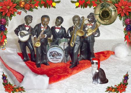 Stoker-Jazz-Band und Open Air Kino auf dem Eckernförder Weihnachtsmarkt