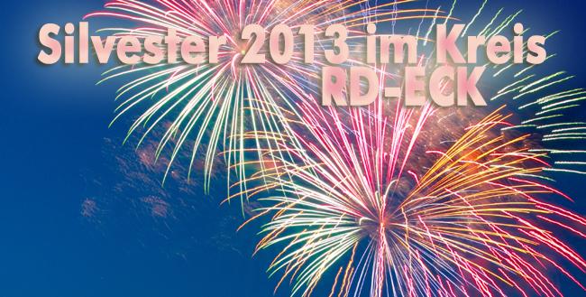 Silvester 2013 im Kreis Rendsburg-Eckernförde – jetzt baldigst die Events melden