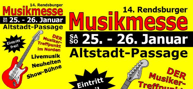 Großartig! Die Rendsburger Musikmesse 2014 im Musikmarkt Rendsburg