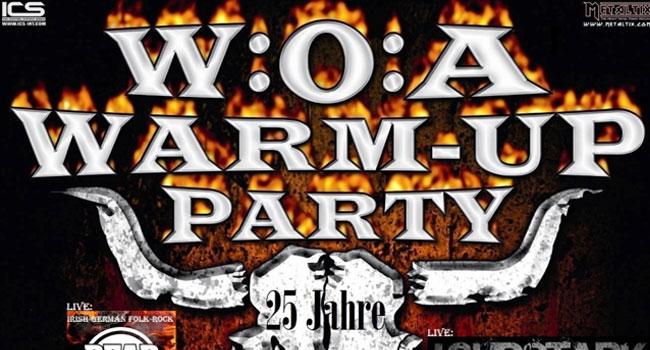 W:O:A Warm Up Party 2014 im Rendsburger Bullentempel