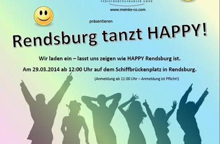 Jetzt dreht auch Rendsburg ein Pharrell Williams Happy Video