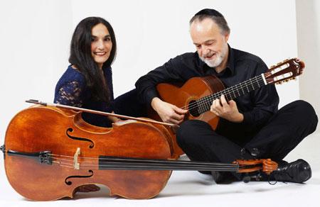 Ariana Burstein & Roberto Legnani live im Jüdischen Museum Rendsburg