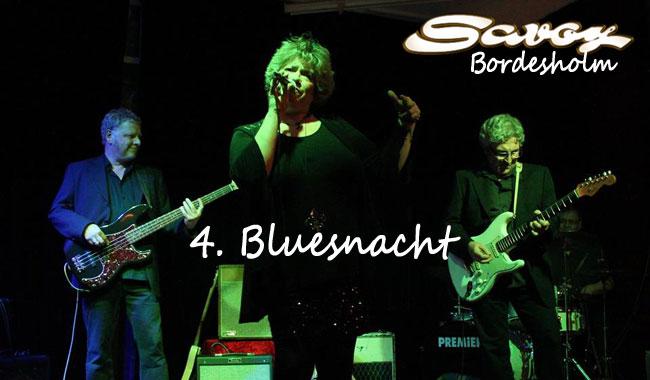 Das bluest! Die vierte Blues-Nacht im Savoy Bordesholm: Box of Pearls, Mitch Hilford und Delta Moon