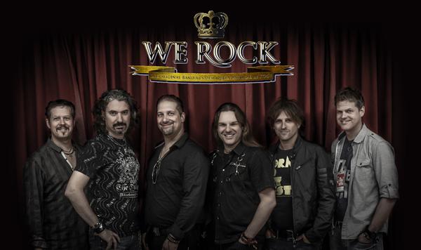 WE Rock – Original Queen Musical Band in Carls Showpalast Eckernförde