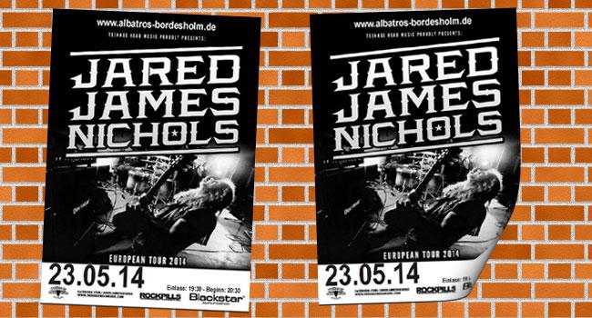 Jared James Nichols – Junge Wilde der Bluesszene im Albatros Bordesholm