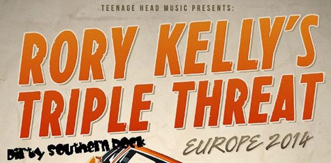Konzert fällt aus!  Albatros Bordesholm: Rory Kelly's Trible Threat live