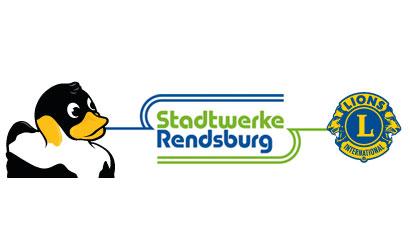 Kauft jetzt Enten für das 5. Rendsburger Entenrennen