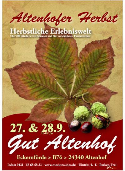 Große Ausstellung auf Gut Altenhof – Altenhofer Herbst