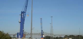 Schwerstarbeit am Nord-Ostsee Kanal: Rendsburg Port fertigte das 100ste Schiff ab