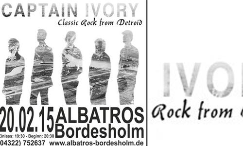 Captain Ivory – Classic Rock aus Amerika im Albatros Bordesholm