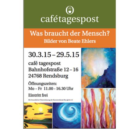 Ausstellung: Rendsburgerin lässt Farben sprechen