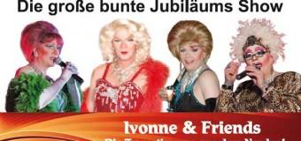 Ivonne & Friends mit neuer Travestieshow in der Gnutzer Mühle
