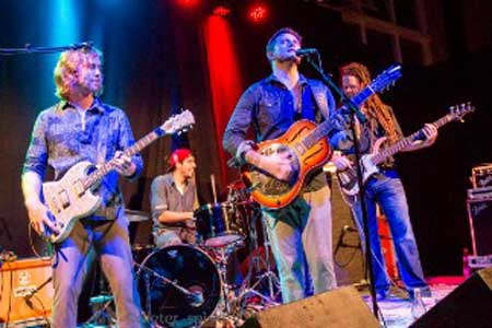 Live-Kracher im Bordesholmer Albatros: The Delta Saints