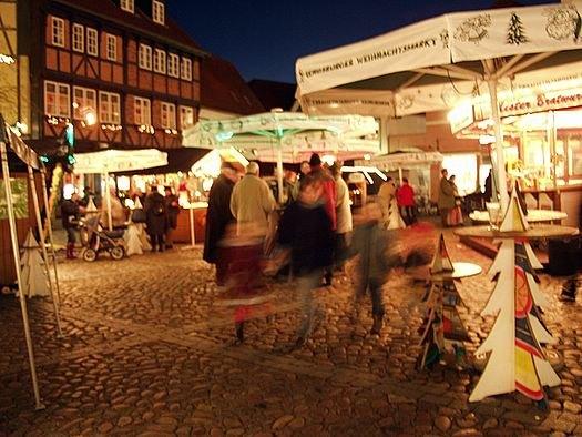 Weihnachtsmarkt in Rendsburg 2005