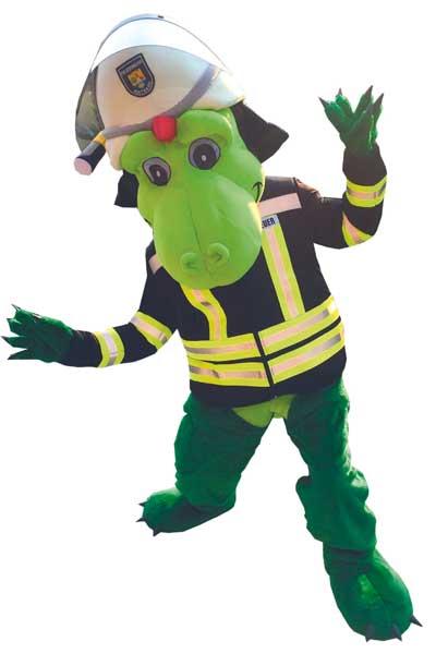 Die Feuerwehr auf der Rendsburger NORLA