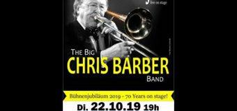 The Big Chris Barber Band live in der Stadthalle Eckernförde