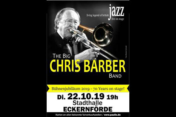 The Big Chris Barber Band live in der Stadthalle Eckernförde