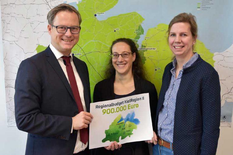 KielRegion II:  900.000 Euro Fördermittel werden in den kommenden drei Jahren in regionale Projekte fließen