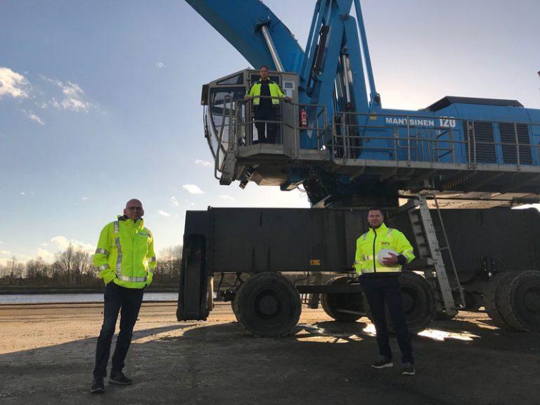 Kreishafen Rendsburg trotzt Corona-Krise